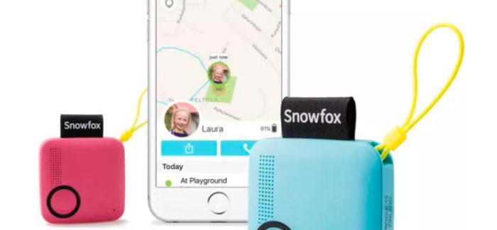 Snowfox GPS ติดตามตัวที่ให้เด็กๆติดต่อผู้ปกครองได้แบบ 2 in 1