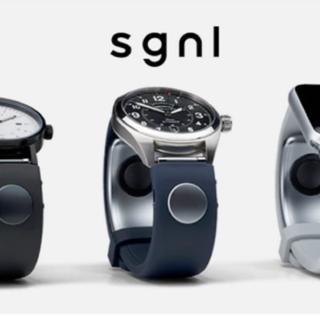 Sgnl สายนาฬิกาที่ช่วยให้เรารับสายโทรศัพท์ได้แม้จะใช้นาฬิกาธรรมดา